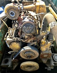 3306 Caterpillar Di Engine For Heavy Equipment Runs Great Serial No 13z018380