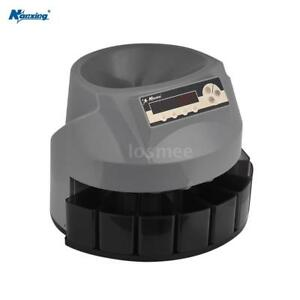 Nanxing Automatic Coin Sorter Counter Machine Stack Count Bank Business New P7w9