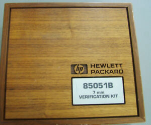 Agilent 85051b Verification Kit