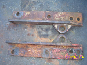 Vintage Ji Case 830 Row Crop Tractor eagle Hitch Lift Arm Brkts 1958