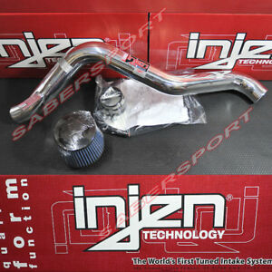 Injen Rd Series Polish Cold Air Intake Kit For 1997 2001 Honda Prelude