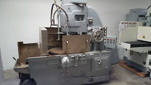 30 Used Blanchard Rotary Surface Grinder Mdl 18 30 A4312