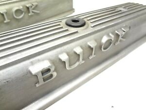 Buick 1964 1965 Gs Riviera Gran Sport Finned Valve Covers 425 401 Nail Head Gm