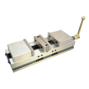 6 Cnc Double Vise Precision Milling Lock Down Hardened 0004 Mill Clamp