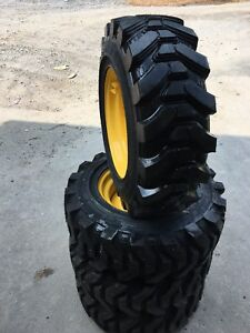 4 10 16 5 Hd Skid Steer Tires wheels rims camso Sks732 For New Holland 29 32nd