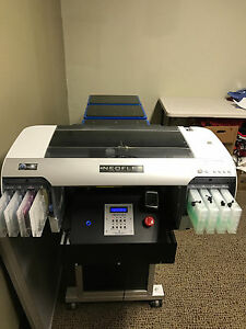 Neoflex Dtg Direct To Garment T shirt Printer Used Rip Program Included