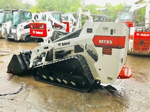 2017 Bobcat Mt85 Mini Skid Steer Track Loader Dingo Trencher