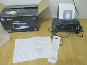 Hp 2140 Professional Quality Plain paper Fax Copier W Telephone New Cartridge