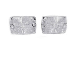 Depo Pair Of Clear Front Bumper Signal Lights For 1994 1995 Jeep Wrangler Yj