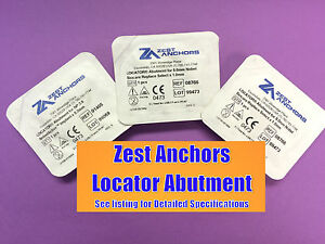 Zest Anchors Locator Abutment For 3 5 4 0 4mm