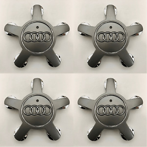 Oem Set Of 4 Audi A3 Q5 S3 Sq5 2009 2016 4f0601165 Center Cap