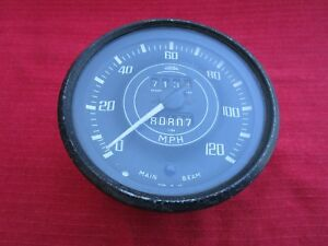 Dash British Jaeger Sn 6325 Speedometer Gauge For Triumph Tr4 And Tr4a