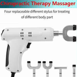 Chiropractic Adjusting Tool Spine Adjuster Therapy Spine Massager 110v 220v