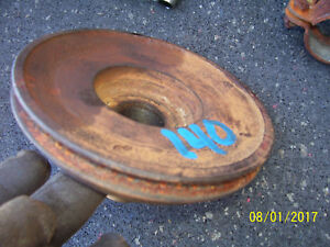 Vintage Ihc Farmall 140 Tractor 123 Engine Front Pulley 1974