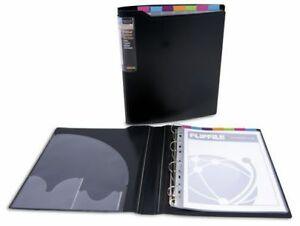 10 X Agenda Collection Index Binders With 7 Part Coloured Index Dividers