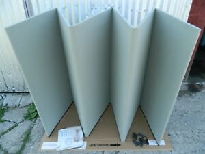 Big Downing Display 2 Sided Folding Table Top Convention Display Board 124 X 42