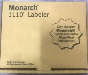 Monarch 1110 Price Gun Labeler Genuine Brand New