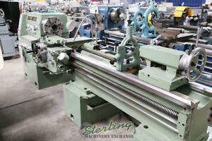 18 24 X 80 new Old Stock Mighty Turn Geared Head Gap Bed Lathe Ml 1880gl A4