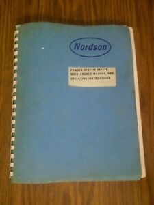 Nordson Powder System Npe Cc8 Hoppers Color Powder Sprayer Manual Only