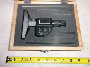 Shars 303 2508 Digital Electronic Depth Indicator New In Wooden Box china