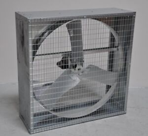 Dayton Assembled Direct Drive Agricultural Exhaust Fan 115 230v 1 2hp