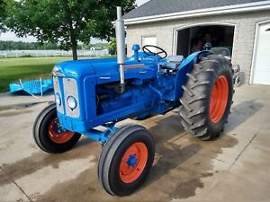 1961 Fordson Super Major Diesel Tractor Restored
