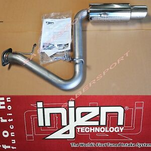 Injen Ses Stainless Steel Axle Back Exhaust System For 2005 2010 Scion Tc