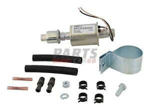 New Universal Electric Fuel Pump With Installation Kit Inline Type Fits E8011
