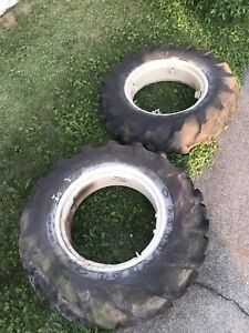 Allis Chalmers B C Tractor Ac Tires And Rims