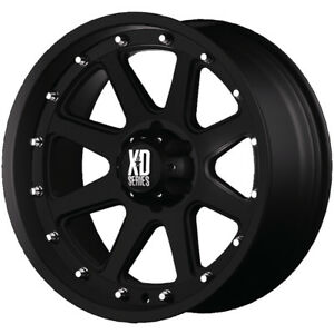 18x9 Black Xd Xd798 Addict 6x135 18 Rims Nitto Trail Grappler 285 65 18 Tires