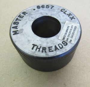 Thread Ring Gage Master 8657 Clxx Threads T 7337 Gauge Free Shipping