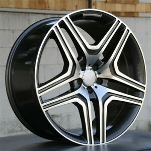 Set 4 22 5x112 Wheels Rims Mercedes Benz R350 Ml350 500 Gl450 550 320 22x10