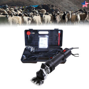 650w Electric Livestock Sheep Shears Clippers Shave Grooming Farm Goat Supplies