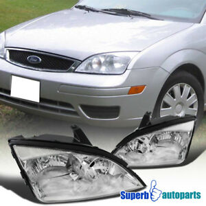 For 2005 2007 Ford Focus Zx3 Zx4 Zx5 Headlights Lamps Left right