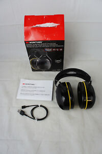 3m Worktunes Connect Hearing Protector Headphones Bluetooth Ppe Great Condition
