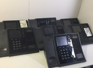 7x Polycom Cx600 Voip Business Office Phones Tested Working Reset lot Of 7