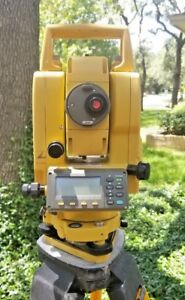Topcon Gpt 3003w Conventional Reflectorless Survey Total Station