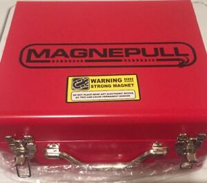 Magnepull Xp1000lc Magnetic Cable Pull Wire Fishing System Steel Case Magnapull
