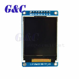 1 8 Inch Full Color 128x160 Spi Tft Lcd Display Module Replace Oled For Arduino