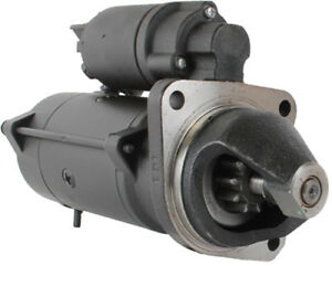 New Starter Motor Fits New Holland Farm Tractor T4030v T4040f T5010 11 132 144