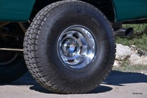 17x9 Us Mags slot 5 On 5 5 Bp Ford Dodge F100 150 Ram Bronco Polished