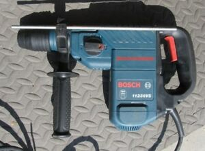 Bosch 11236vs Sds Plus Rotary Hammer Drill With Depth Guage Bits And Case