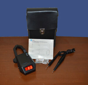 Tif Instruments 1000 Ac Digital Clamp on volt ohm ammeter Probes