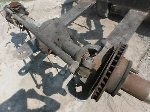 Dodge W150 Ramcharger Dana 44 Front Axle Assembly 3 54 Jeep Swap Will Ship