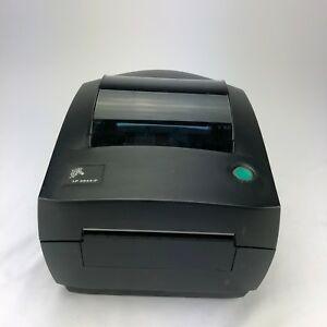 Zebra Lp2844 p Pos Thermal Label Printer 120727 001 Tested And Working