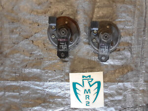 1991 1995 Toyota Mr2 Sw20 Oem Tone Horns Sirens Stock Factory High Low 92 93 94