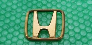 Honda Accord Odyssey Gold Trunk Rear Hatch Logo Emblem Sk7 0100 Sign Badge