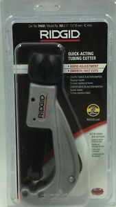 Ridgid 31362 1 4 1 7 8 Quick acting Tubing Cutter model 151