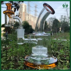 Toro Glass Bong Oil Rig 5mm Thickness Banger Nail Coloured Glass Carb Cap Thick