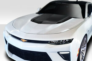 Duraflex Zl1 Look Hood 1 Piece For Chevrolet Camaro 16 18 Ed_113910